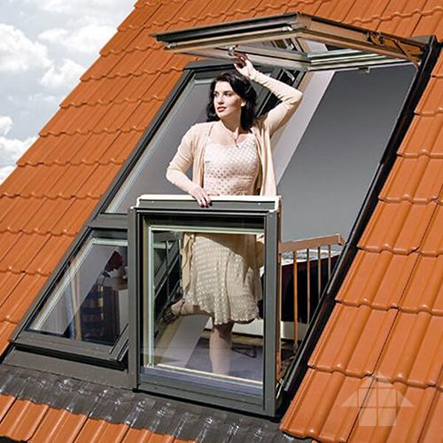 Слайд #2   Мансардные окна Fakro