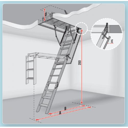 Слайд #2 | Чердачные лестницы LITESTEP