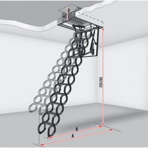 Слайд #3 | Чердачные лестницы LITESTEP