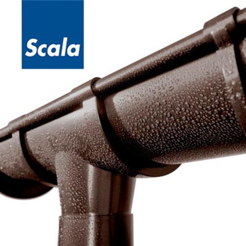 Слайд #1 | ПВХ водосток  Scala Plastics