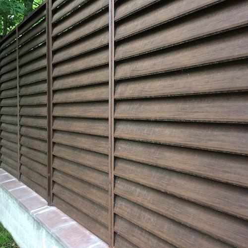 Слайд #1 | Забор жалюзи